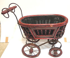 antique victorian doll buggy