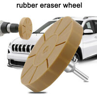 "4.5""inch Rubber Eraser Wheel Adhesive Sticker Pinstripe Decal Graphic Remover US"