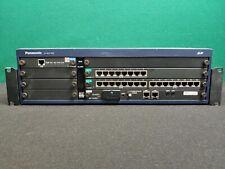 Panasonic KX-NCP1000 IP-PBX Phone System with PRI 23,SLC 8, DLCN 16, IPCMPR