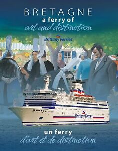 Bretagne a ferry of Art and distinction