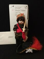 """Marie Osmond 1992 Fine Porcelain """"Miracle Children"""" Cody Pirate Collector Doll"""
