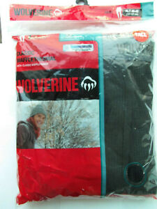 WOLVERINE Men's Classic Waffle Thermal  PANTS Black XLT NEW 40 42