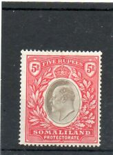 SG 44 SOMALILAND 5R MINT.. CAT £70..TWO SCANS