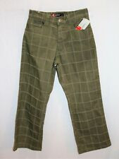 "WEST Surf Brand Boys Khaki Button Fly Denim Pants Size 24"" BNWT #TH107"