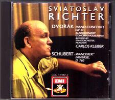 Sviatoslav RICHTER & Carlos KLEIBER: DVORAK Piano Concerto SCHUBERT Wanderer CD