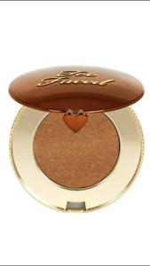 NIB Too Faced Chocolate Gold Soleil Bronzer - Luminous - .09 oz