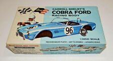 60s Revell AC Cobra 1/32 slot car body kit w/box, mint, NOS!