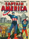 Captain America: Commie Smasher New Metal Sign: Anti-Communist Cold War NEW Sign