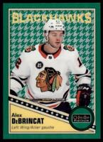 2019-20 OPC Platinum Retro Rainbow Green Houndstooth #R-31 Alex DeBrincat /15