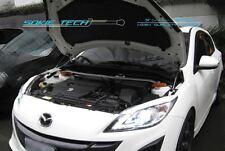 09-13 Mazda3 Mazda 3 MK2 BL Sedan Hatchback Black Strut Bonnet Hood Damper Kit