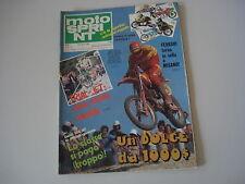 MOTOSPRINT 29/1980 PROVA TEST MOTO GUZZI 125 2C/SERVIZIO MOTORE TGM HIRO 250