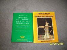 Debretts Manners & Correct Form for the Middle East & Finjan Gahwa Saudi Arabia