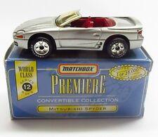 * 1/64 * Matchbox Premiere * Mitsubishi Spyder Eclipse * Issue # 6 * Boxed *