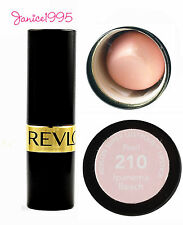 REVLON Super Lustrous Lipstick Pearl #210 IPANEMA PEACH