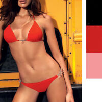 Pain de sucrE Schmuck Bikini Kalika Triangel  Rosa o Rot 38 - 40