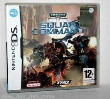 WARHAMMER 4000 SQUAD COMMAND GIOCO USATO OTTIMO DS & 3DS EDIZIONE ITALIANA FR1
