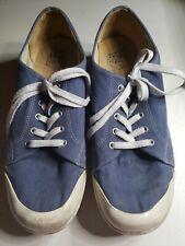 Dansko Vegan Veda Blue Lace-Up Clogs Sneakers Womens Shoes Sz 42 EUR 11.5-12 US