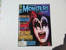 Famous Monsters of Filmland, issue 226 KISS Gene Simmons, Lon Chaney centerfold