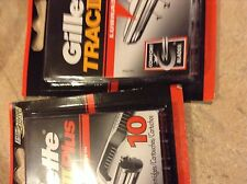 Gillette Trac II Plus 30 Count (3 packs with 10 each) Free Shipping