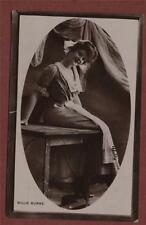 Miss Lucy Wright, Smales Street,, Bishophill, York.   postcard Billie Burk qc217