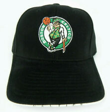 85ea3316b4e BOSTON CELTICS NBA VINTAGE ALL BLACK STRAPBACK RETRO CAP HAT NEW! TWINS TEI
