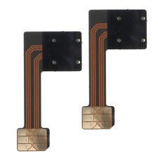 2 Pcs Dual Sim card Adapter Micro SD - Nano SIM for Huawei, Xiaomi, Samsung