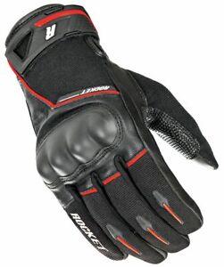 Joe Rocket Super Moto Gloves Mens Black / Red 2XL