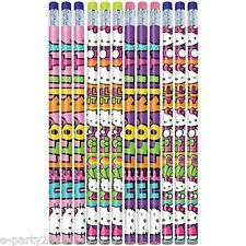 HELLO KITTY Rainbow PENCILS (12) ~ Birthday Party Supplies Stationery Favors