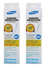 DA29-00020B Samsung Original Genuine  Refrigerator Water Filter (Set of 2)
