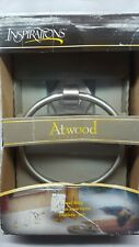NIB ATWOOD BY MOEN 'INSPIRATIONS' PEWTER TOWEL RING