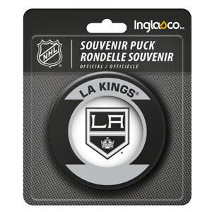 Los Angeles Kings NHL Retro Team Logo Souvenir Hockey Puck