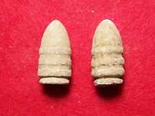 2 Excavated Civil War .54 Cal. Confederate Sharps Ringtail Bullets  - Manassas