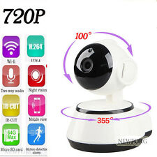 Wireless Pan Tilt Network Security CCTV IP Camera Night Vision WiFi Baby Monitor