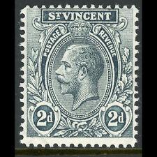 ST VINCENT 1921-32 2d Grey. SG 133. Lightly Hinged Mint. (AT606)