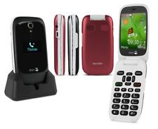 Teléfono Abatible fácil Doro Teléfono 6531 Sim Libre/Desbloqueado Negro/Blanco