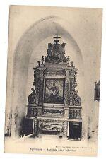 sylvanès  autel de ste-catherine