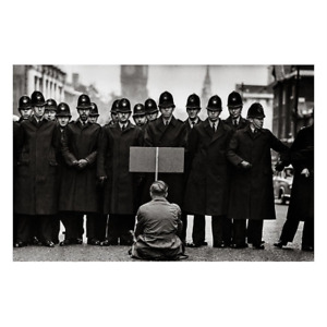 """DON MCCULLIN - 6"""" x 6"""" SIGNED MAGNUM ARCHIVAL PRINT"""