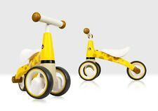 Giraffe Ride on Toy for 1-2 Year Olds, Baby & Toddler 3 Wheel Balance Bike/Trike