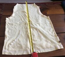 Vintage Tommy Hilfiger Muscle Tank T-Shirt Yellow Logo Flag Size Women's Small