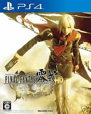 Final Fantasy Type-0 HD SONY PS4 PLAYSTATION JAPANESE NEW JAPANZON