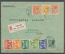 40c MF DUIF/VETH(9) AANGETEKEND HAARLEM 9.XI.1926 BULLE 11.XI.26             Hc3