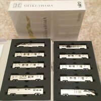 Kato 10-1447 Type E001 Train Suite 'Shikishima' 10 Cars Set (N scale) Japan NEW