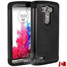 Hockey Ball 2 Layers Premium Hybrid Protective Case / Cover with Films for LG G3