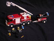 LEGO CITY, CITY POLICE RESCUE, FIRE RESCUE TRUCK SET #7239