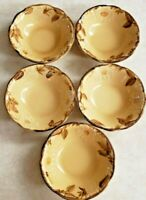 Franciscan Dinnerware Café Royal 5 Cereal Bowls Made in USA Earthenware