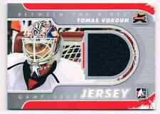 2011-12 BETWEEN THE PIPES GAME-USED JERSEY TOMAS VOKOUN JERSEY 1 COLOR