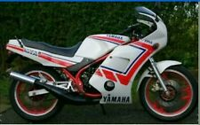 RD350LC YPVS F2  MODELS  FULL PAINTWORK DECAL KIT FOR WHITE PAINTWORK