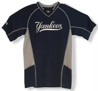 Majestic MLB New York Yankees Baseball Jersey Shirt Pullover Small Embroidered