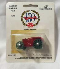 Scale Models Massey Harris No. 1 150th Anniversary  1997 1/64 NIP