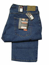 "Mens Rockford Denim Jeans Straight Fit Big Kingsize Rj510 Size 42"" - 60"" Waist 46"" Short 46 X 30"